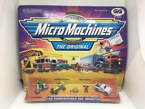 Micro Machines #42 Desert Drivers Italian Version 1999