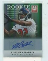 Keshawn Martin 2012 Panini Elite Turn of the Century Rookie Auto Autograph /399