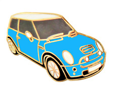 Mini One Laser Coche Azul Prendedor Pin