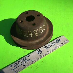 Studebaker Champion, 1949 to 1953,  pulley,  524850.    Item:  8667