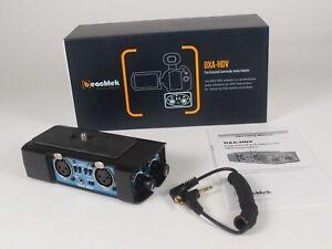 Beachtek DXA-HDV Camcorder Audio Adapter BRAND NEW