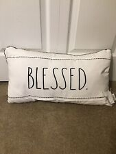 Rae Dunn BLESSED Toss Pillow