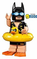 NEW LEGO Minifigures Vacation Batman The Movie 71017 Genuine Holiday Minifigure