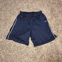 Mens Nike Team Shorts Grey Blue Dri-Fit Running Training Elite Football XL