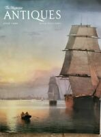 Antiques The Magazine July 1988  paintings Fitz Hugh Lane Dorflingers glass