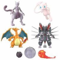"""Pokemon Mewtwo Strikes Back Shodo 3"""" Bandai Action Figure Toy Charizard Mew New"""