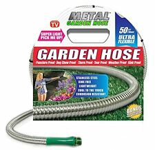 New listing Garden Hose, Metal, Stainless Steel, Yard, Flexible, Puncture-Proof, Lightweight
