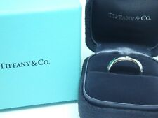 $2650 Tiffany & Co. 4mm  Etoile Band Diamond Ring Platinum 950 Size 5.5