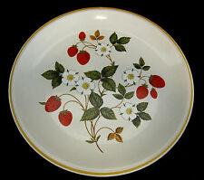 Sheffield Strawberries n Cream Dinner Plate Stoneware Vintage Japan