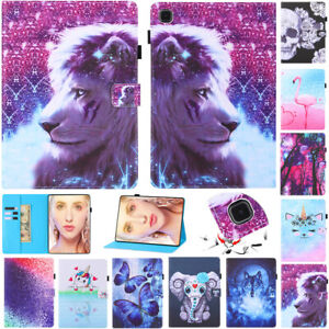 """For Samsung Galaxy Tablet 8"""" 9.7"""" 10.1"""" 10.4"""" 11"""" 12.4"""" Flip Stand PU Case Cover"""