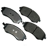 Akebono ACT969 ProACT Ultra-Premium Ceramic Brake Pad Set