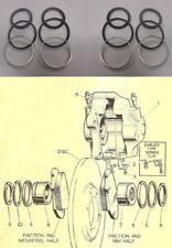 (x2) Wolseley 6/99 6/110 Anteriore Pinza Freno Riparazione Kit Guarnizioni (1959 - 64 solo)