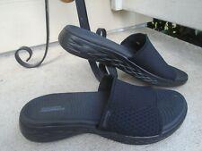 Womens Skechers GoGa Max slides sandals sz 9M