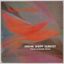 ARCHIE SHEPP QUINTET: Bird Fire IMPRO Import Jazz LP NM-