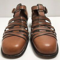 Cole Haan Womens Brown Leather Dress Sandals Shoes 9B.