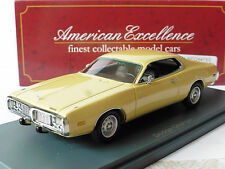 DODGE CHARGER YELLOW METAL 1973 NEO 44753 1/43 GELB LHD AMERICAN EXCELLENC JAUNE