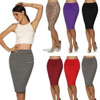 Sexy Women Ladies Bodycon Elegant Business Casual Straight Pencil Skirt  WST