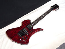 BC RICH Mockingbird ST electric GUITAR Red NEW - Neck-Through - Floyd Rose