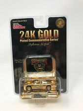 Racing Champions 24K Gold Plated Commemorative Series 50th Anniversary NasCar