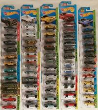 Lot of 60 American Hot Wheels Vehicles (all new on card!!)(!!DOUBLES!!)(LOOK!!!)