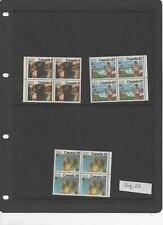 Canada - 1976 Olympics 12th issue set MNH blocks of 4 ref 22