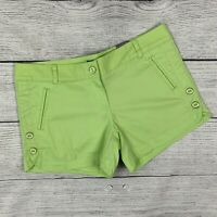 NWT New Women's Limited Lime Green Easy Shorts sz 4