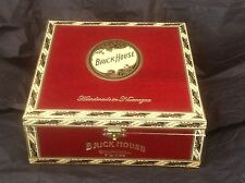 RED BRICK HOUSE CHURCHILL WOOD CIGAR BOX Guitar Clock Jewelry Box  Purse Crafts