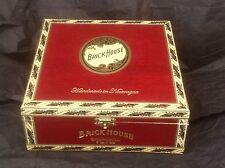 RED BRICK HOUSE CHURCHILL WOOD CIGAR BOX Guitar Clock Jewelry Box  Purse Crafts
