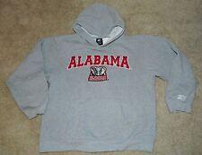 STARTER Vtg. U of Alabama Crimson Tide SEWN Hooded Sweatshirt, L (12/14) Youth