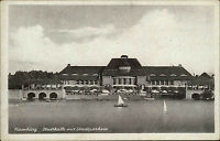 Hamburg AK ~1920/30 Stadthalle Stadtparksee See Restaurant Cafe Verlag Wagner