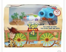 Brand New Disney Pixar TOY STORY 4 Limited Edition Toy Story In A Box - 10 Pc