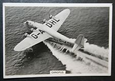 Empire Flying Boat  Canopus   Medway  Kent    Vintage Photo Card # VGC