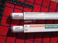 "2 of NEW Sylvania F20T12 fluorescent grow light bulb 20w Gro-Lux 24"" plant lite"