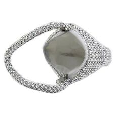 Small Soft Body Beaded Pouch Shaped Evening Bag Change Purse -silver DP B1t A1h7