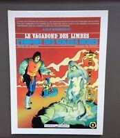 RIBERA. Le Vagabon des Limbes N°2 + Dessin original. Vaisseau d'argent 1990 TBE