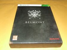 BELMONT SPECIAL ED (CASTLEVANIA  LORDS OF SHADOW II)  KONAMI for XBOX 360 (PAL)