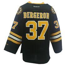 Defective Boston Bruins Patrice Bergeron Nhl Reebok Kids Youth Size Jersey New