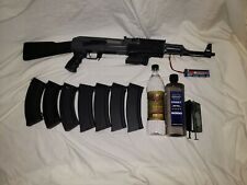 New listing CYMA Airsoft AK-47 AEG Full Metal with polymer furniture, and bundle