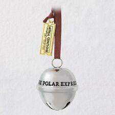 Hallmark 2019 The Polar Express Santa's Sleigh Bell Metal Ornament