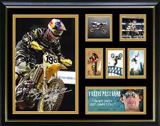 Travis Pastrana Signed Framed Memorabilia