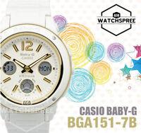 Casio Baby-G New Big-Face Design BGA-150 Series Watch BGA151-7B