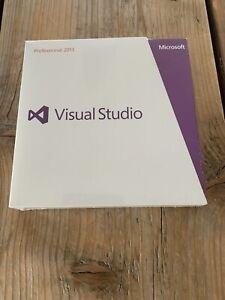 Visual Studio 2013 Professional, Vollversion, Win, DVD, Eng, mit MwSt Rechnung