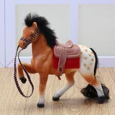 Spielzeug für Spielpuppen Fliska Pferd Pferdchen Schecke, Art.Nr. 370s
