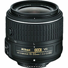 Nikon 18-55mm f/3.5-5.6 G VR II AF-S DX Nikkor Lens (No Packing) US