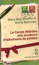 Paperback the literary circle of lovers peels potato book