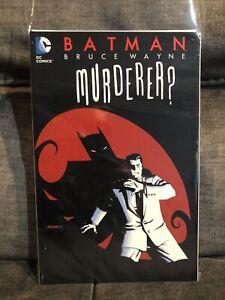 Batman Bruce Wayne Murderer? Paperback TPB Fine To Very Fine