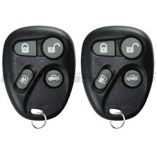 2x Keyless Entry Remote Car Key Fob Transmitter for 1996 1997 Cadillac ABO1602T