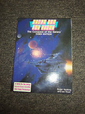 1987 Reach for the Stars Conquest of the Galaxy 3rd Edition for Amiga