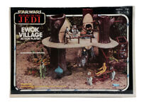 1983 KENNER STAR WARS ROTJ EWOK VILLAGE ACTION PLAYSET UNOPENED MISB AFA 80 NM