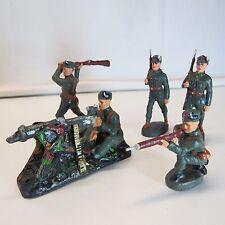 Der GüNstigste Preis 2 Soldaten Militär Lineol Elastolin Masse Um 1900 Nr 28 Gefertigt Vor 1945